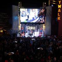 "Universal Studios President  joins Chabad of the Valley's Chanukah at CityWalk calling it amongst ""the largest Chanukah events in the world"""