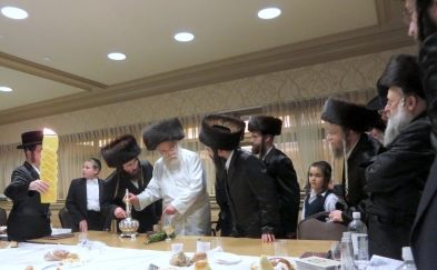 Havdala at the Chasiddishe Kollel