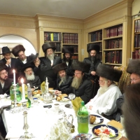Visit of the Toldos Aharon Rebbe in Los Angeles