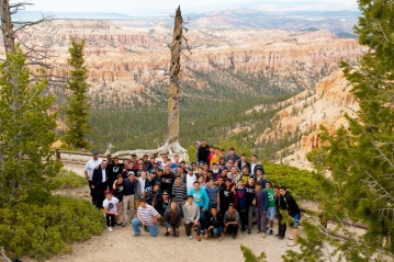 From the Beauty of Torah to the Beauty of Utah; Valley Torah Boys Bond Outside the Classroom (3)