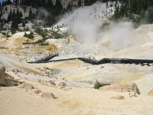 Bumpass Hell at Lassen Volcanic National Park
