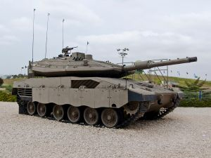 The Merkava IV Tank