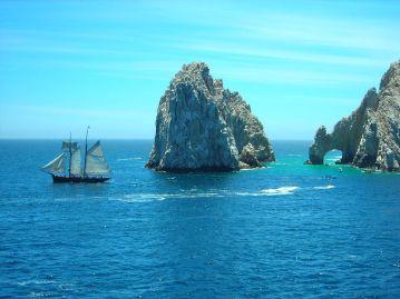 Clipper Ship at Los Arcos - Cabo San Lucas