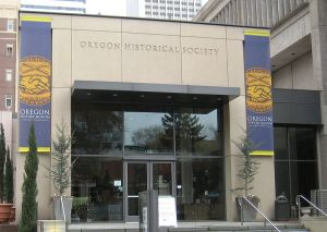 Entrance to the Oregon Historical Society