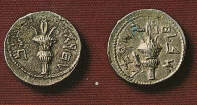 Coins from the time of the Bar Kochba revolt