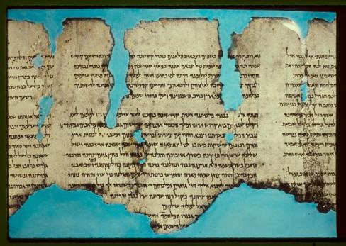 One of the Dead Sea Scrolls