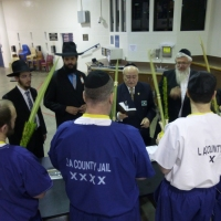 Orthodox Jewish Chaplaincy Board Behind Bars for Succos