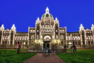 The BC Legislature Building