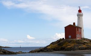 The Fisgard lighthouse