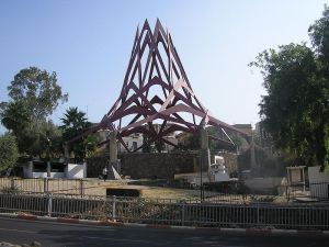 The Kever of the Rambam in Tiberias