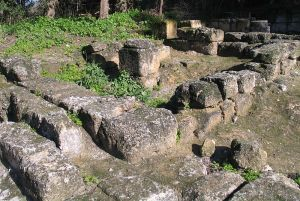 Unidentified structure in Beit Shearim dating back to the beginning of the Roman exile