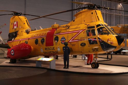 Boeing Vertol CH-113 Labrador at the Canada Aviation Museum