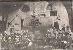 Etz Chaim students at Kever Rachel, 1932