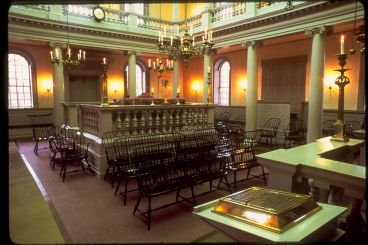Inside of the Touro Synagogue