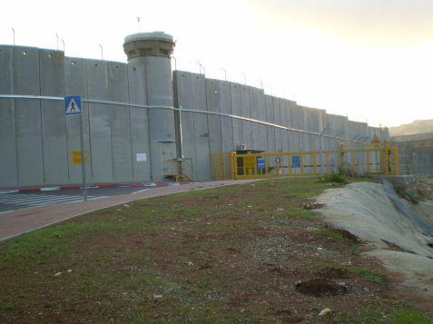 Israeli security checkpoint near Kever Rachel