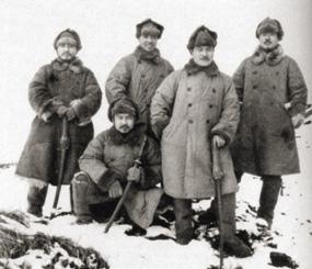 Attu Japanes troops