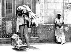 A Tallis salesman in pre 1959 Cuba