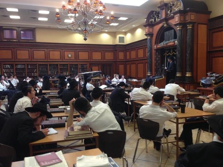 At Yeshivah Ohr Elchonon Chabad