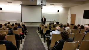 Lecturing at the Fuller Theological Seminary, Pasadena
