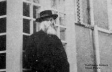 The previous Rebbe in Otvotsk