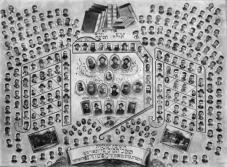 The Talmidim of the Yeshiva in Otvotsk