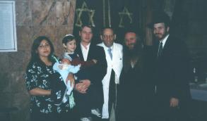 Rabbi Shechet and Rabbi Douek