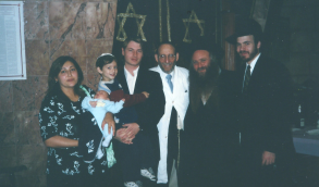 Rabbi Shechet and Rabbi Douek