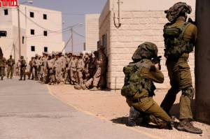 A military exercise pitting US Marines vs Givati special forces