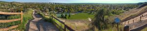 A panoramic photo of Boise, Idaho from Camelsback Park. Photo: Patrick R. via Wkimedia Commons
