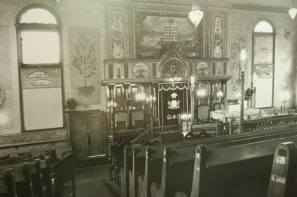Inside of the Shul
