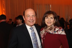 Beth Jacob Shul President Jack (left) and Carrol Fenigstein