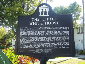 The Little White House by Ebyabe via Wikimedia Commons