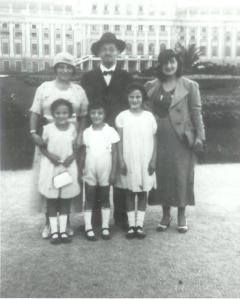 The Schwartz family in Vienna