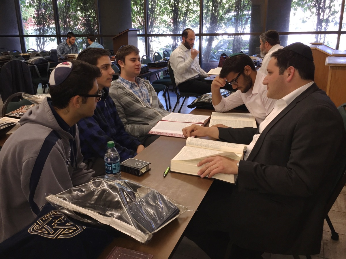 Young Rabbinical Students Go Back To School