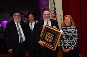 Rabbi Shalom Tendler, Rabbi Asher Brander, Rabbi Ephraim Niehaus and Mrs. Zahava Niehaus