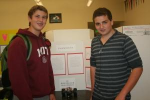 Henry Roland and Elliot Freeman, New Community Jewish High School