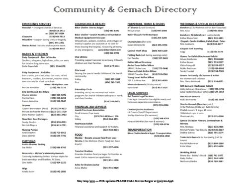 Community & Gemach Directory 2015 (1)_001