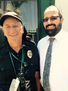 Rabbi Solomon and the school security guard