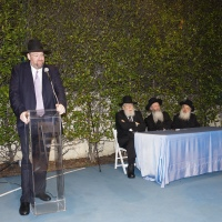Lakewood Roshei Hayeshiva and Los Angeles Spend Shabbos Together