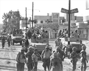 IDF entering Gaza in 1967