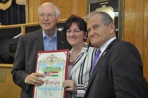 Hungarian Ambassador Honored5