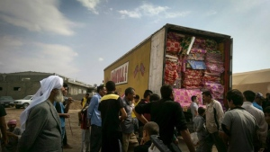IsraAID supplies for the Yazidi refugees