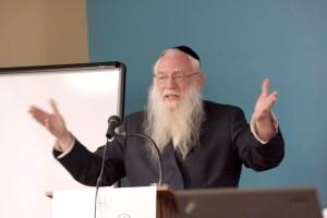 Guest lecturer Rabbi Dr Heschel Fried