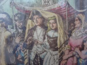 18th century wedding