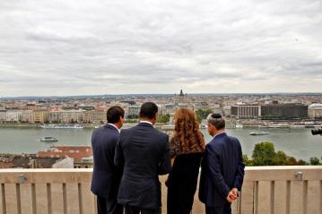 Bais Naftoli visits Hungary 3