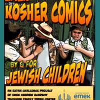 First Ever Kosher Comic for Jewish Kids, by Jewish Kids