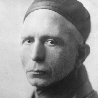 Trebitsch after his ordination as a Buddhist monk in 1931