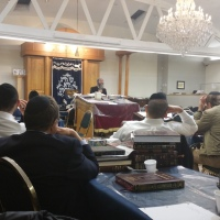 Rabbis Hirschfeld and Kaminetsky Speak at LINK Kollel in LA