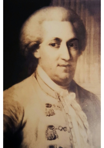 "In 1760, R. Yonason's younger son, Wolf, announced he was a Sabbatian prophet. He later converted to Christianity and became ""Baron Eybeschutz"", although he apparently rejoined the Jewish community before his death in 1805. This picture was given to Rabbi Dunner by his descendant, a religious Jew who lives in Gateshead, England"