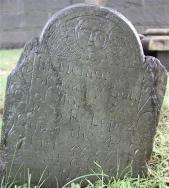 Gravestone of Isaac Lopez, Touro Cemetery. Photo by Laura Leibman